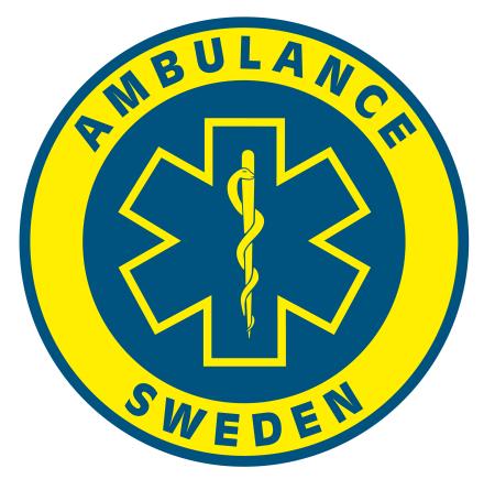 Dekal Ambulance Sweden