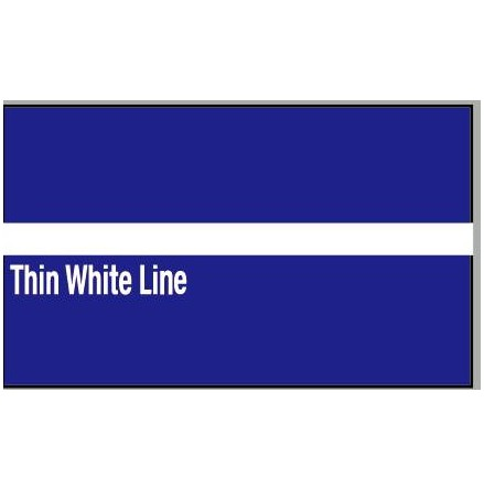 Thin White Line Dekal
