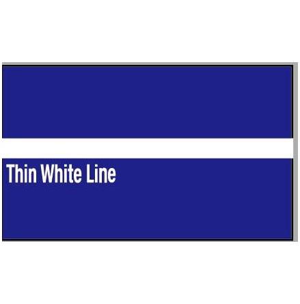 Thin White Line Dekal