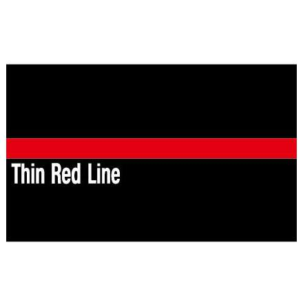 Thin Red Line Dekal 85X54mm