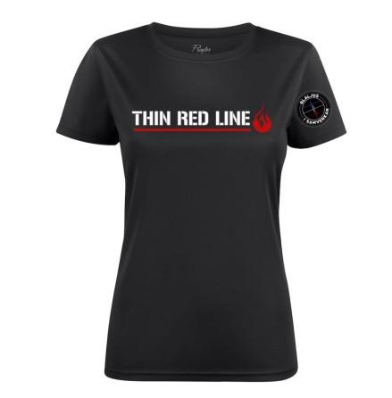 Thin Red Line Funktionströja Dam Stl XS