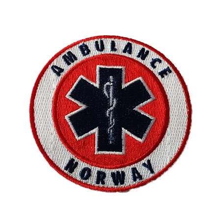Ambulance Norvay Iron on Patch