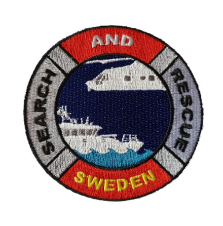 SAR Sweden Patch on iron