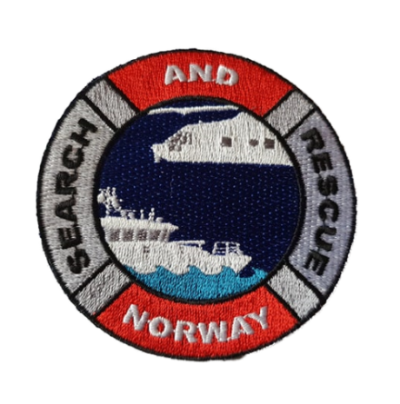 SAR Norway Patch Kardborre